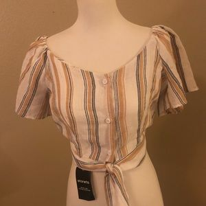 Storets Crop Top/Blouse NWT